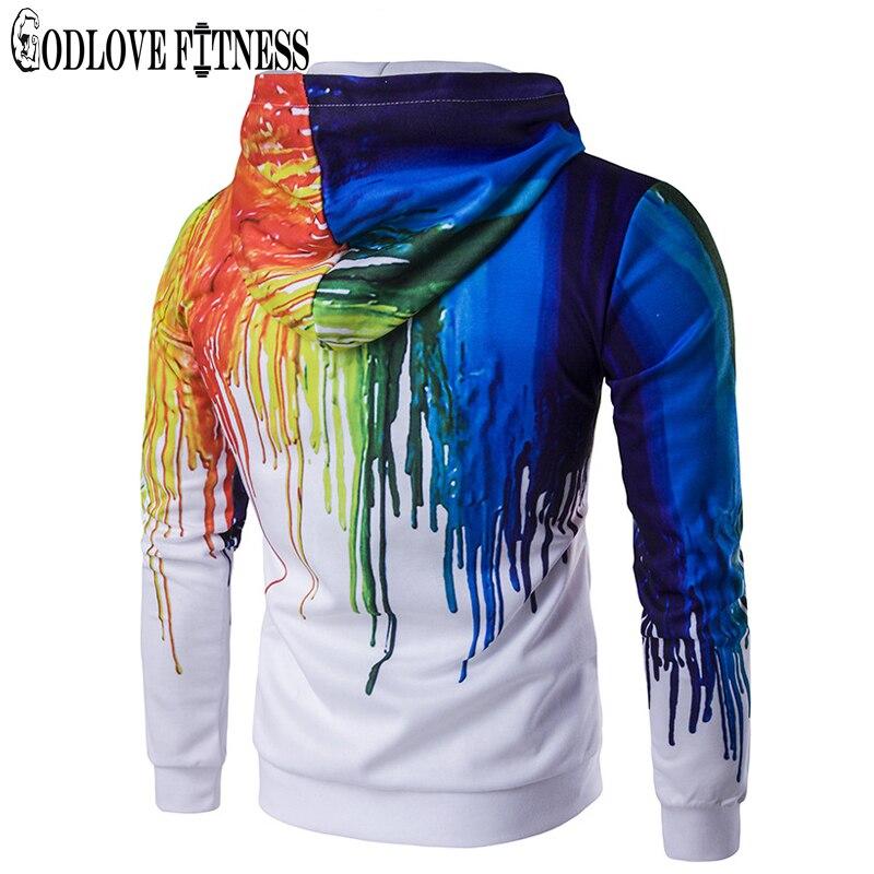 7da97d78d3 New Autumn Winter Fashion Ink 3D Print Men Jacket Coats Brand Clothing  Casual Loose Jackets Cardigan Zipper Coat Mens