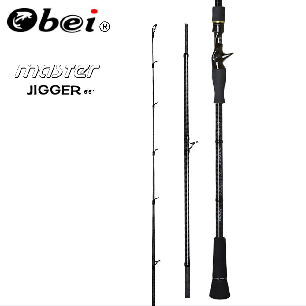 Obei MASTER Boat Slow Jigging Fishing Rod 100 500G travel Spinning Casting lure rod 30 80IB