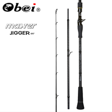 Obei MASTER Boat Slow Jigging Fishing Rod 100 500G travel Spinning Casting Lure Rod 30 80IB Fishing Lure Rod