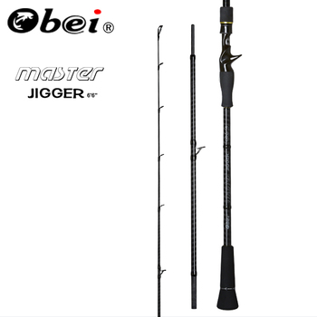 Obei MASTER Boat Slow Jigging Fishing Rod 100-500G travel Spinning Casting lure rod 30-80IB fishing lure rod