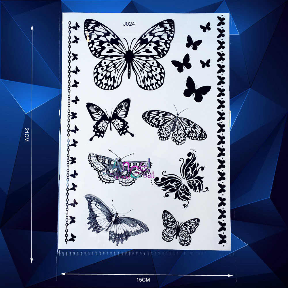 6eb1836c8 Detail Feedback Questions about 1 Sheet Popular Disposable Tattoo ...