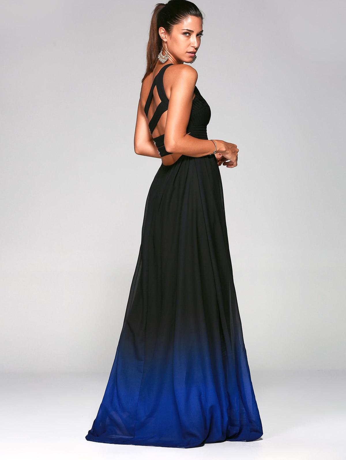 Ombre Long Formal Dresses