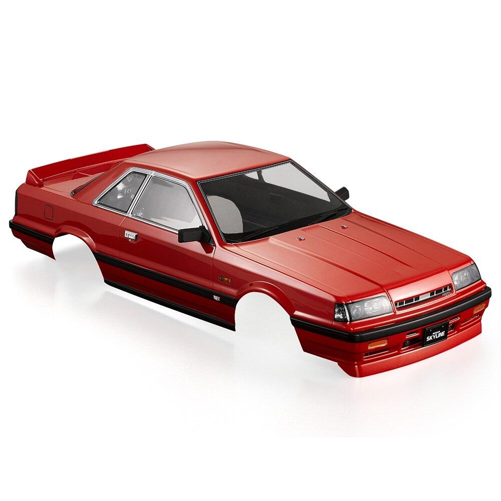 Oyuncaklar ve Hobi Ürünleri'ten Parçalar ve Aksesuarlar'de RC Araba Kabuk 48678 Nissan Skyline (R31) Bitmiş Vücut Kabuk için 1:10 Elektrikli Touring RC yarış arabaları DIY Parçaları'da  Grup 1