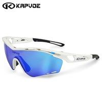 Kapvoe Polarized Cycling Glasses Men Women Sports Cycling Sunglasses Mountain Road Bike Bicycle Riding Eyewear Goggles