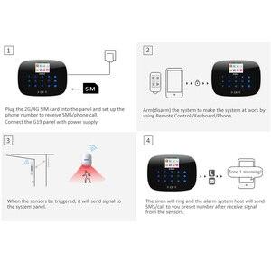 Image 3 - KERUI LCD Sensore PIR GSM Composizione Automatica Casa Casa Ufficio Antifurto Sistema di Allarme Antintrusione Supporto 2G segnale Android e IOS APP di controllo