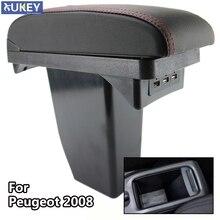Console For Peugeot 2008 New Storage Box Center Arm Rest Modification