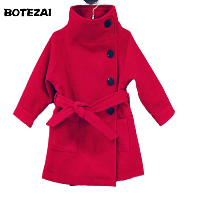 b2d76592fdf8 2017 New Baby Girl Jacket Kids Girls Coats Winter Kids Woolen ...
