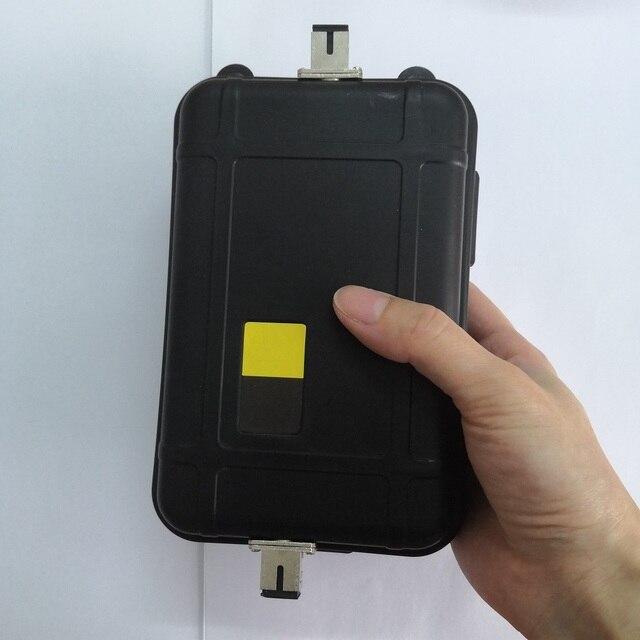 Fiber OTDR Launch Box Via Cavo 1000 m Zona Morta OTDR Eliminatore di Elettricità In Modalità Singola Fibra Anelli SM 1 km