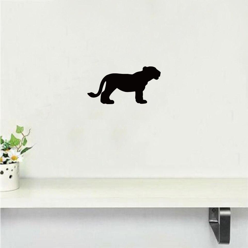 Safari Lioness Wall Sticker Lion Silhouette Vinyl Decal Cartoon Stiker Switch Lampu Kucing Gantung Quantity1 Piece