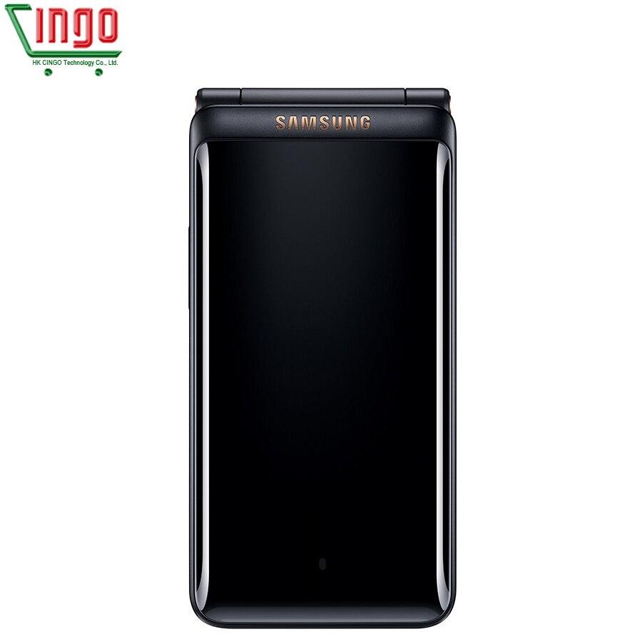 Unlocked Samsung Galaxy Folder 2 G1650 4G LTE Mobile Phone 16GB ROM 2GB RAM Dual SIM