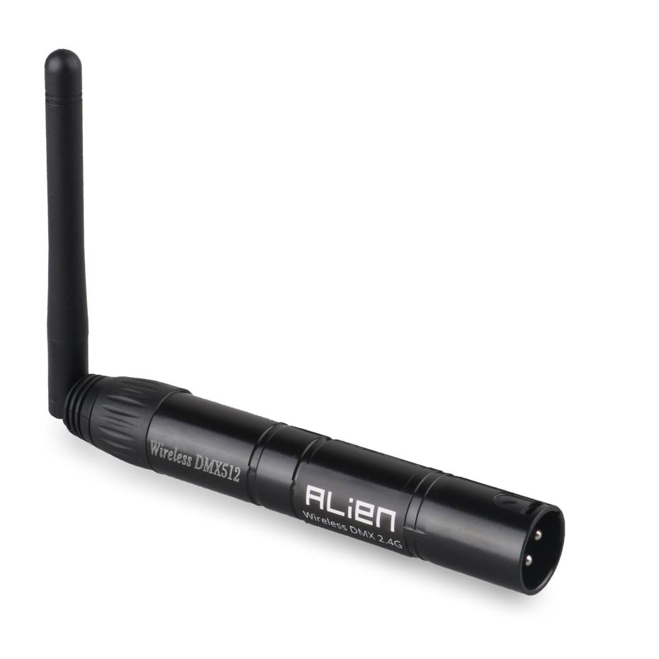 ALIEN DMX512 Wireless Controller Receiver Transmitter 2.4G ISM Dif Communication Distance 300m for Stage Par DJ Disco Bar Lights