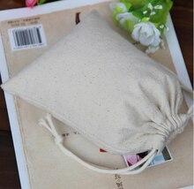 CBRL lienzo personalizado bolsa con cordón barato, caja de joyas de tela de algodón bolsa de cosméticos herramienta de bolsa con cordón para el regalo de la joyería al por mayor