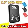 "2015 De Metal De 2.5 ""2.5 polegada USB 3.0 HDD Case Disco Rígido Caixa de alumínio USB3.0 para SATA Hdd De Armazenamento Externo"