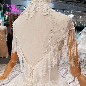 Image 5 - AIJINGYU חתונה שמלות מעצבי שמלת מין למעלה אמא של כלות שמלות תוצרת סין בציר קצר שמלת כלה
