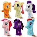 Miúdos bonitos do bebê Fantoche Brinquedos Cavalo de Brinquedo De Pelúcia super macia fantoche de Mão brinquedo fantoche Boneca para as meninas presentes de aniversário de natal TO124