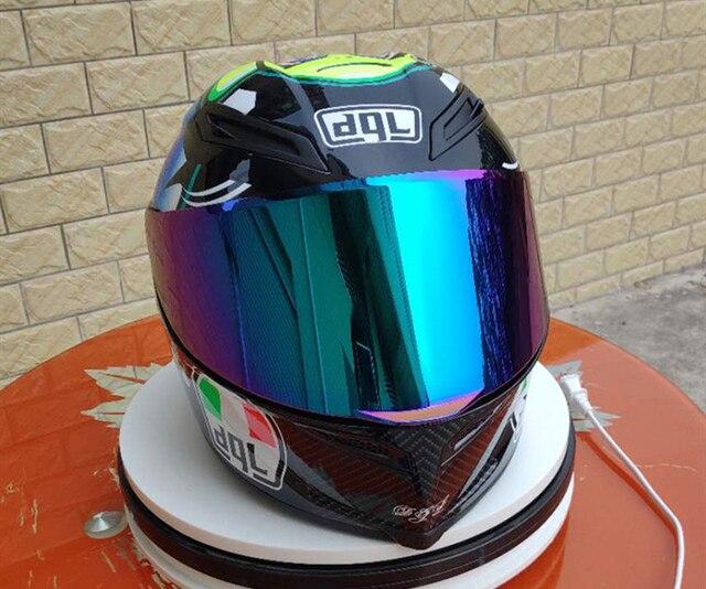 Dql мотоциклетный шлем для мужчин, для езды на автомобиле, четыре сезона, крутой мотоцикл с хвостом, автомобильный Зимний шлем