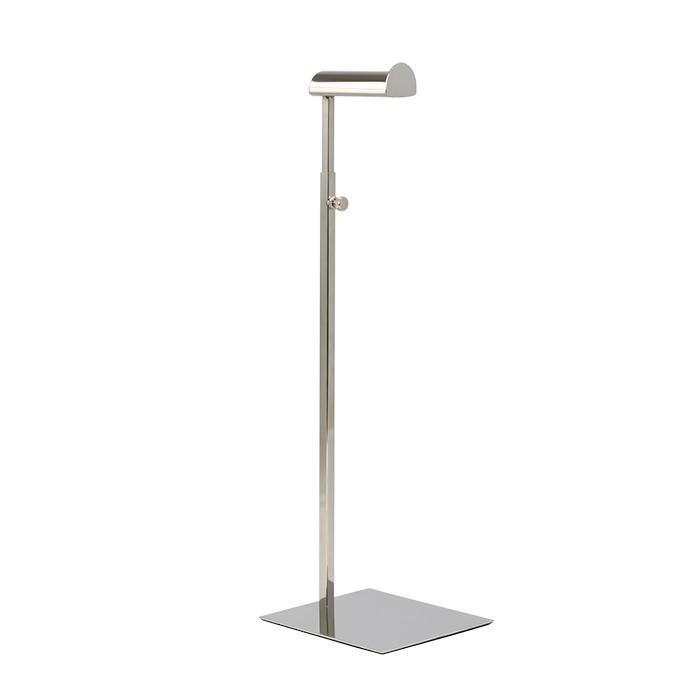 Bag Display Stand Stainless Steel Metal Hook Stand Handbag Wig Hat Hanging Stand Hanger Adjustable Height