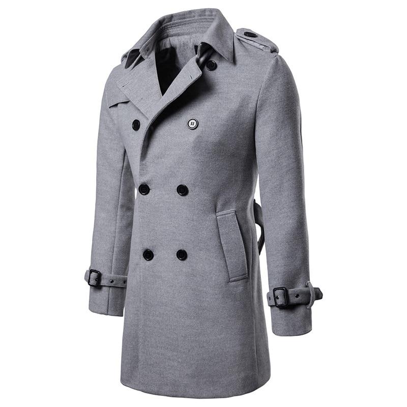 pea coat light grey