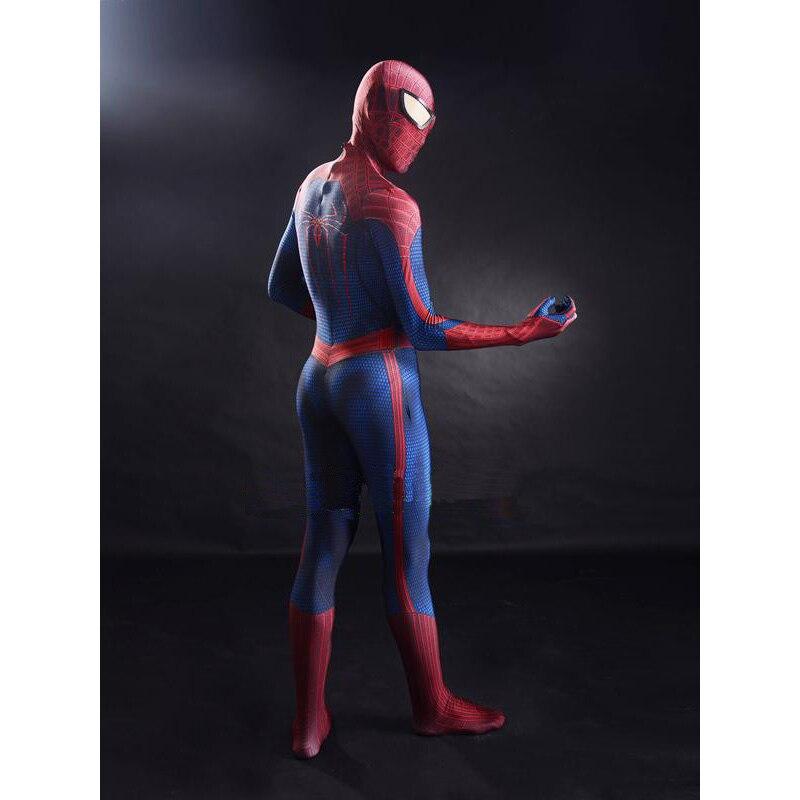 spiderman zentai cosplay costume for men women halloween printing tights zentai good permeability size s - Halloween Tights For Women