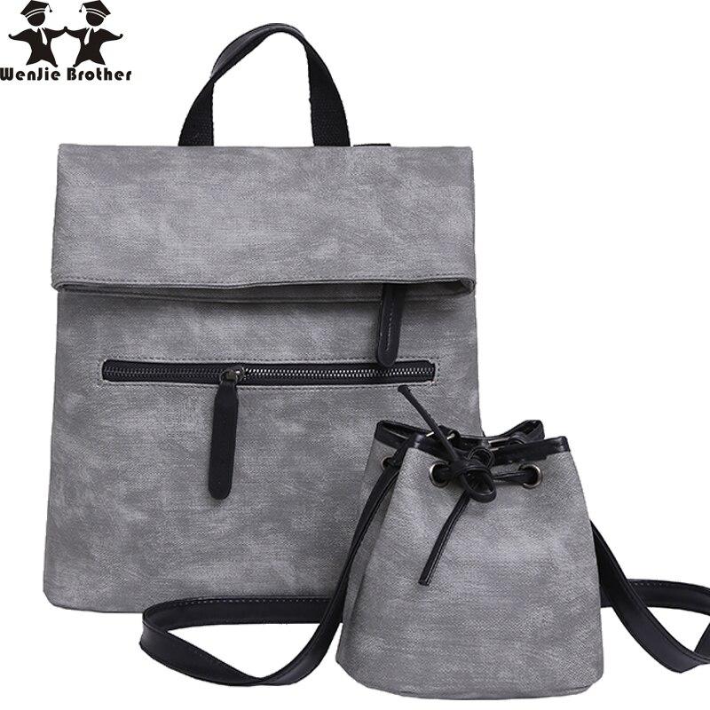 c296bcbd9194f Wenjie kardeşi yeni çanta sırt çantası kadın üniversite rüzgar isabet sahne  çok amaçlı paketi yüksek kapasiteli öğrenci çantası kadın sırt çantası