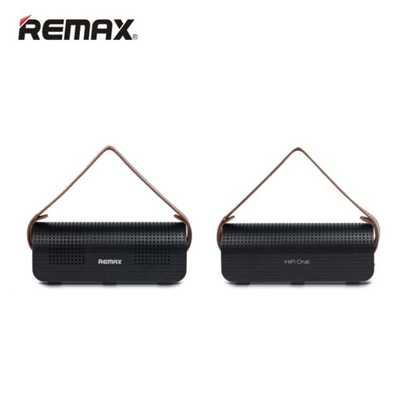 REMAX RB-H1 8800mAh SD Stereo Wireless Bluetooth Speaker Power Bank With NFC Sep5 Professional Factory Price Drop Shipping remax h1 desktop speaker leather straps power bank mini portable speaker rb h1 hifi box and 8800mah power bank 2 in 1 function