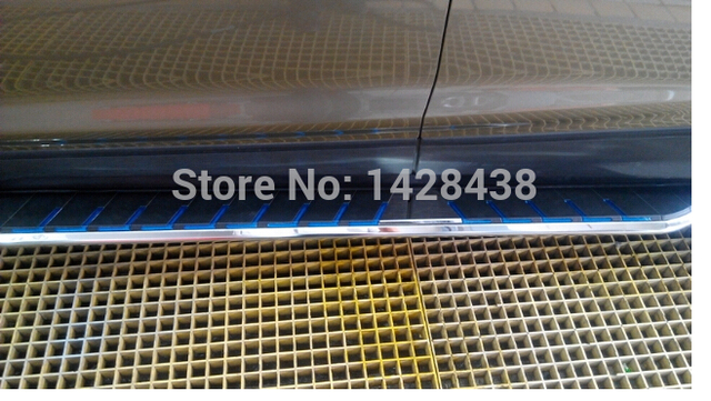 High quality! Blue or red Step Bar Running Side Board For FORD Ecosport 2013-2015