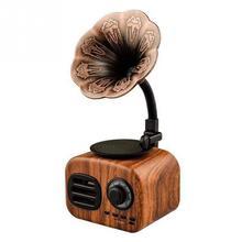 Mini Radio de bolsillo Retro estéreo de onda corta Vintage receptor de Casa altavoz USB AM FM Bluetooth Tarjeta de soporte portátil