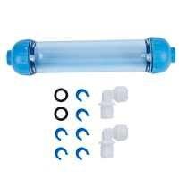 Offre spéciale de haute qualité boîtier de filtre à eau bricolage remplir T33 coquille Tube de filtre Transparent osmose inverse pièces de filtre à eau