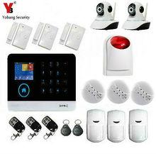 YobangSecurity WiFi 3G WCDMA/CDMA GPRS Smart Home Inturder Burglar Alarm System Wireless IP Camera Flash Strobe Siren