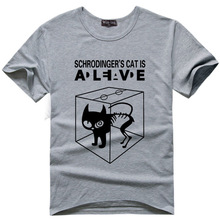 Schrodinger's Cat is Alive T-shirt / 10 Colors