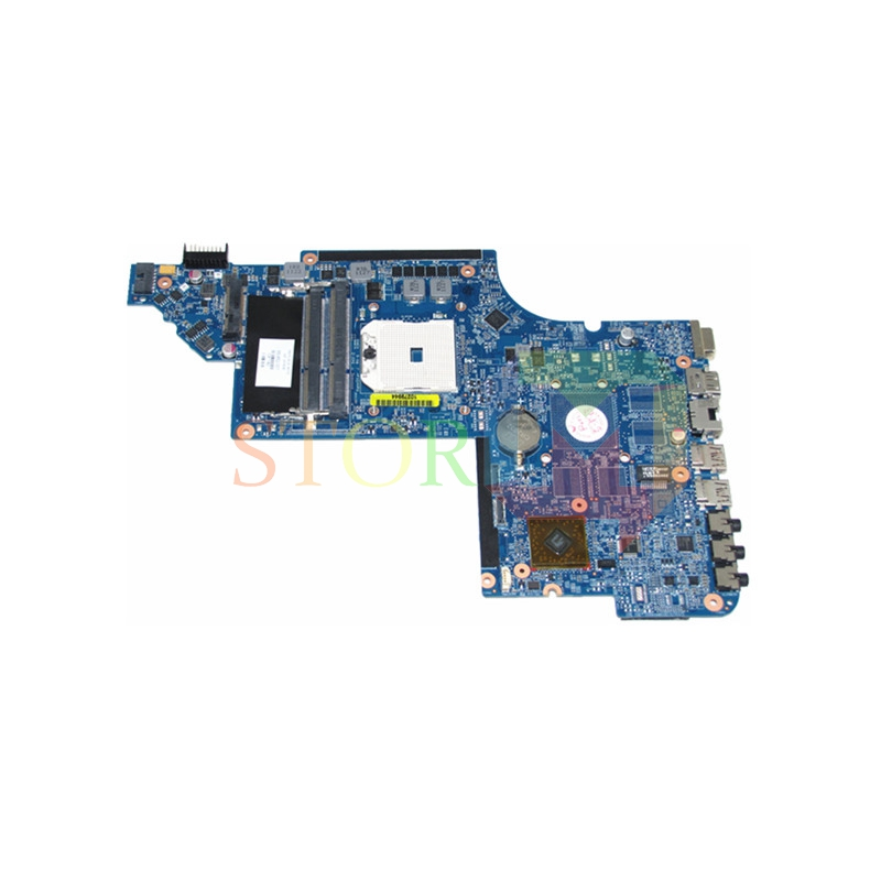 NOKOTION for HP Pavilion DV6 DV6-6000 laptop motherboard socket fs1 650852-001 DDR3 574680 001 1gb system board fit hp pavilion dv7 3089nr dv7 3000 series notebook pc motherboard 100% working