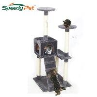 2015 New Fashion Cat Climbing Animal Luxury Furniture Cat Tree Pet Home Furniture Grey Black White
