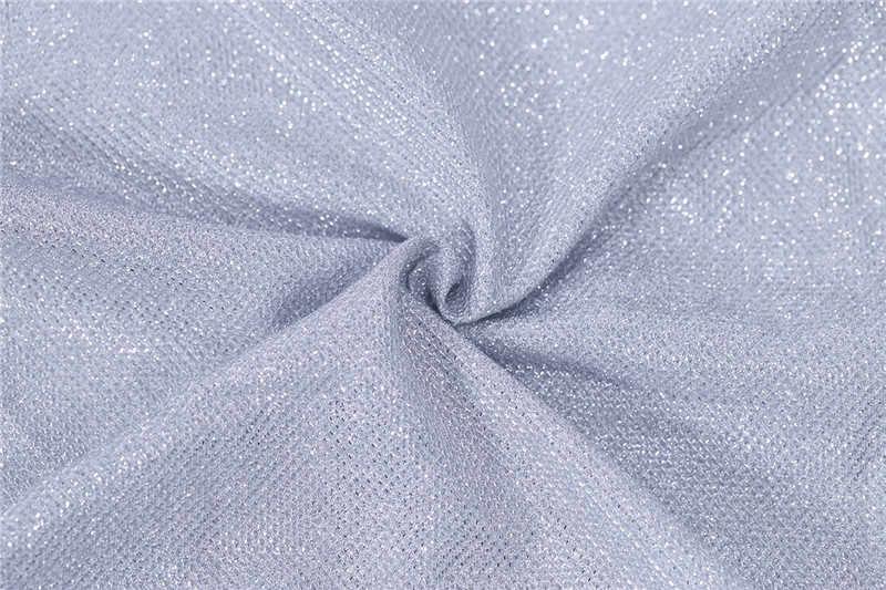 Сексуальные Серебрянные блестящие Комбинезоны для вечеринки женский комбинезон шорты комбинезон с длинными рукавами с открытыми плечами и пуговицами ночной клуб комбинезон с карманами