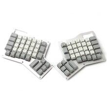 YMDK Cherry Profile Juego de teclas Ergodox con estampado superior, PBT grueso, Ergo Ergodox para teclado, Envío Gratis