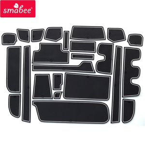 Image 4 - smabee Gate Slot Cup Pad for HONDA STEP WGN Accessories Non Slip Mats Interior Rubber Door Mat Coaster Car Styling Cup Holder