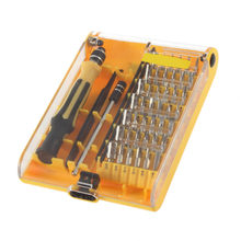1 Set 45in1 Torx Obeng Presisi Set Alat Perbaikan Pinset Ponsel Kit Hot(China)