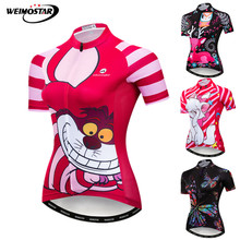 Bike Jersey Cycling-Wear MTB Women Shirt Weimostar Maillot-Ciclismo Quick-Dry Summer