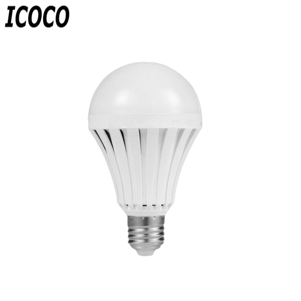 ICOCO 5W LED <font><b>Emergency</b></font> Bulbs E27 B22 Bulb Rechargeable Lighting Lamp <font><b>220V</b></font> Magic Home Camping Hunting <font><b>Emergency</b></font> Outdoor <font><b>Light</b></font> New image