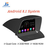 JDASTON Android 8.1 Car DVD Player For FORD TOURNEO 2013 2014 2015 2016 WIFI GPS Navigation 1 Din Car Radio Stereo Multimedia