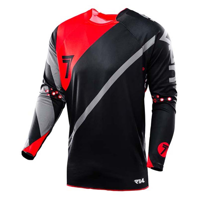 2019 seven mx motocross jersey mountain bike equipation cycling quick dry bicycle man downhill jersey in Cycling Jerseys from Sports Entertainment