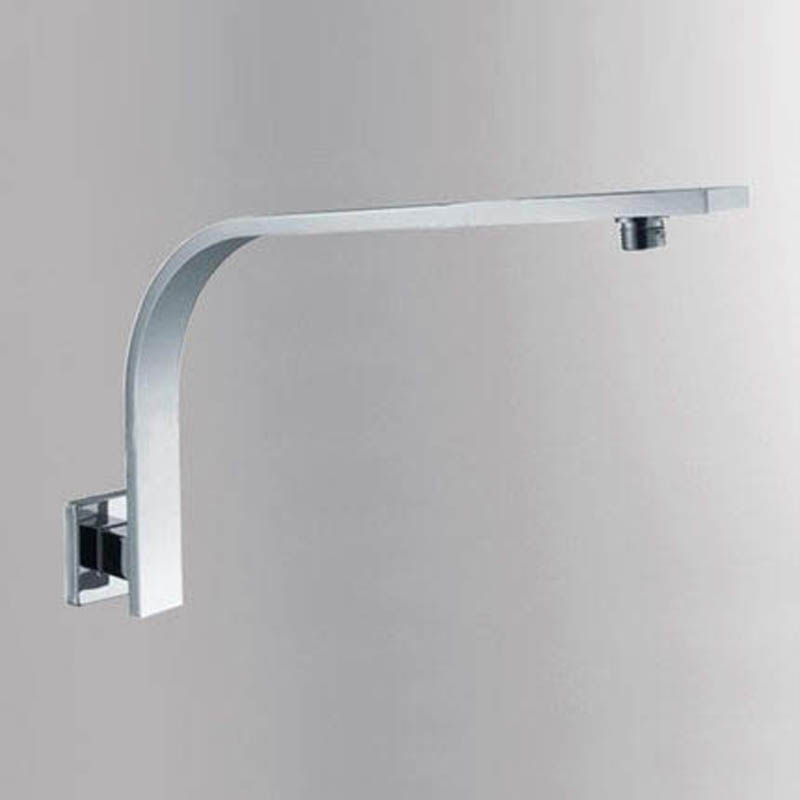 Bathroom Shower Arms Rainfall Shower Head Faucet Outlet Connector Stainless Steel Chrome Polish In Wall Toilet Furnitures