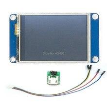 Английская версия nextion 2.4 «TFT 320×240 Сенсорный экран UART HMI Смарт Raspberry Pi ЖК-дисплей модуль Дисплей для Arduino TFT FZ1716