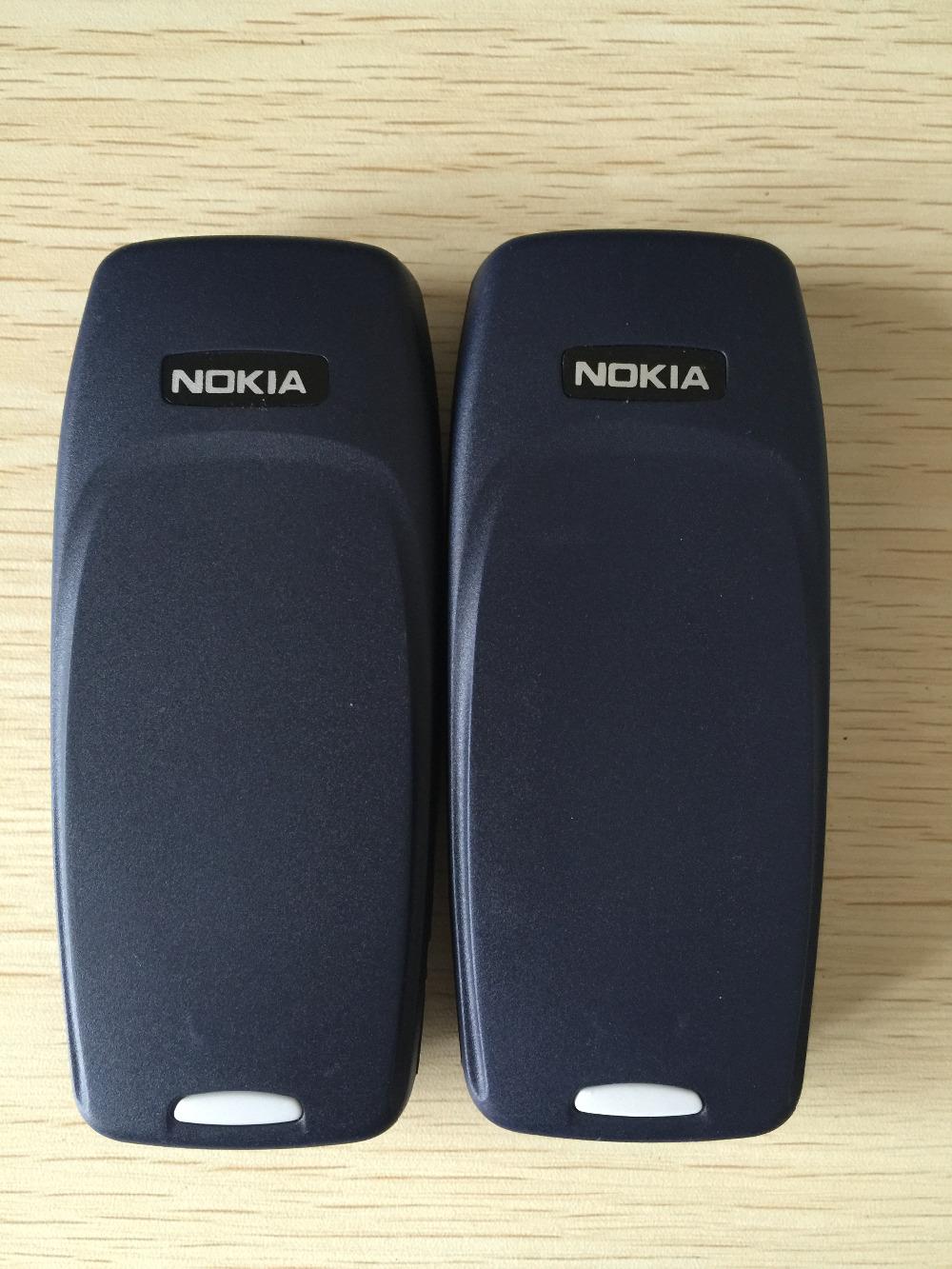 Refurbished phone Nokia 3310 cheap phone unlocked GSM 900/1800 with multi language dark blue 3