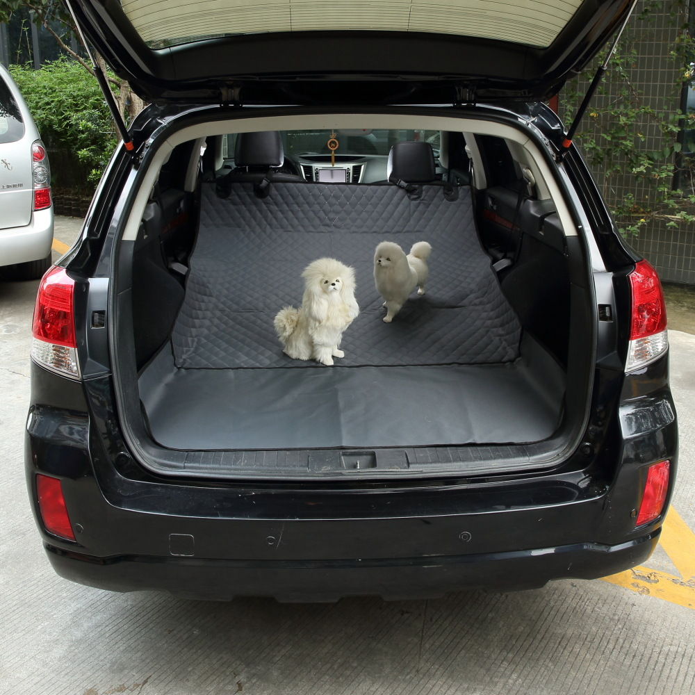 Soft SUV Foldable Waterproof Dog Car Seat Cover Hammock for Dogs In Car Pet Carriers Truck Hammock pet Car Mat Pet Car Seat Cove