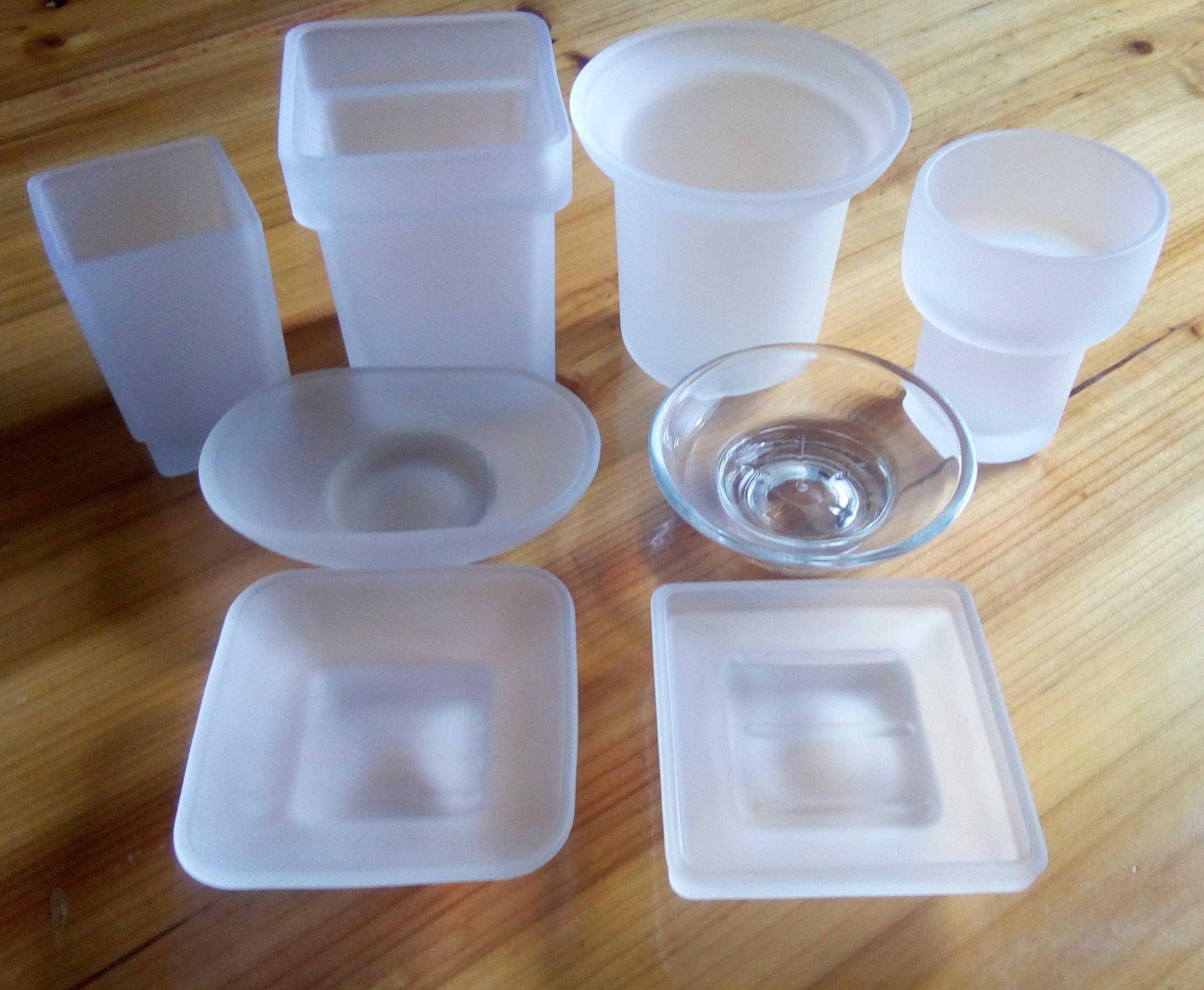 Glass Round / Square Soap Dish, Repair Parts