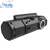 GPS Dash camera Full HD 1920x1080 Car camera Dashboard Video Recorder Car Dash Cam G Sensor, Car dvr with two cameras