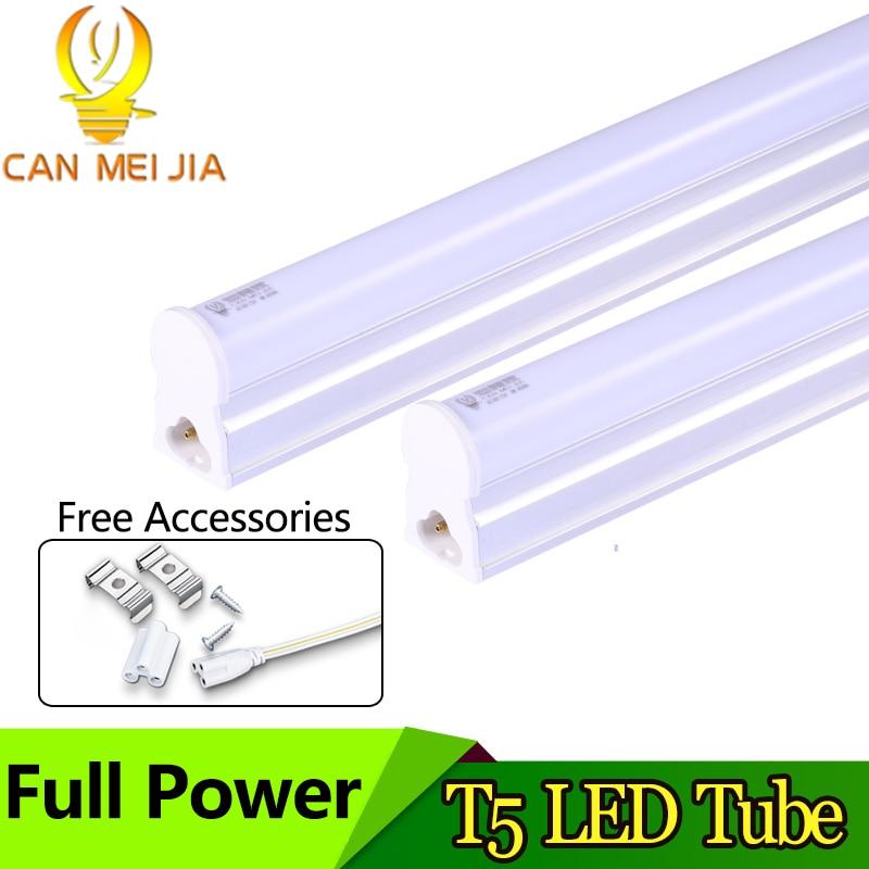 Powerful T5 Led Tube Light 300mm 600mm 5W 8W 9W 2ft LED T5 Wall Lamp 220V Led Fluorescent Lights Decorative For Living Room