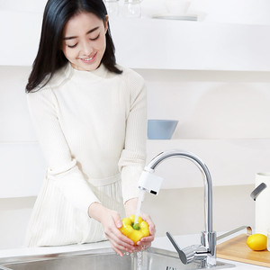 Image 5 - Xiaomi Automatic Sense Infrared Induction Water Saving Device Intelligent induction Energy Saving Device Nozzle Tap For Kitchen