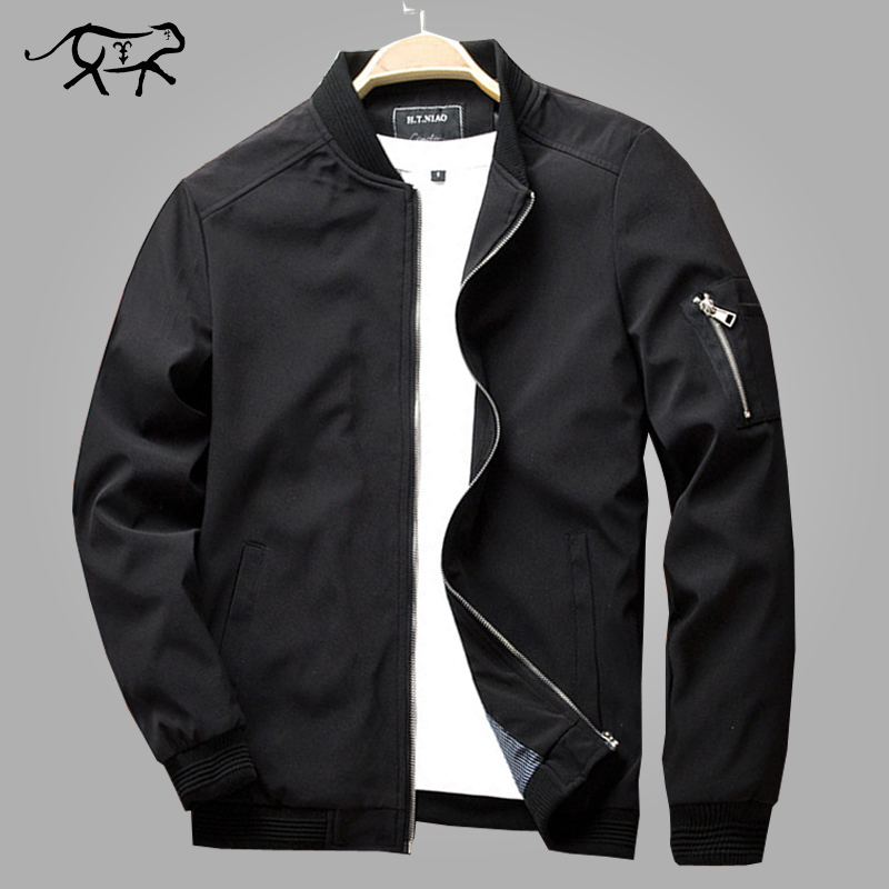 Autumn Bomber Jacket Men Casual Slim Fit Pilot Coat Male Fashion Men Clothes Jackets New Brand Zipper Overcoats Plus Size 4XL