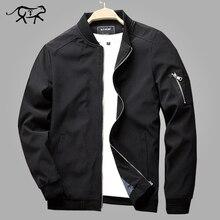 Autumn Bomber Jacket Men Casual Slim Fit Pilot Coat Male Fashion Men Clothes